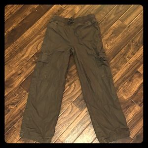 Gymboree lined cargo pants